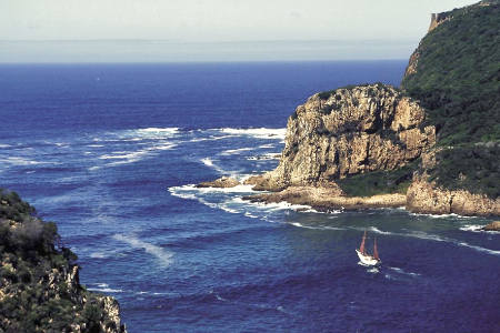 Knysna Lagune - The Heads