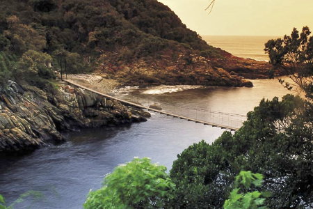 Gartenroute - Storms River Mouth